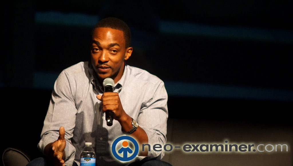 Anthony Mackie of the Avengers film series