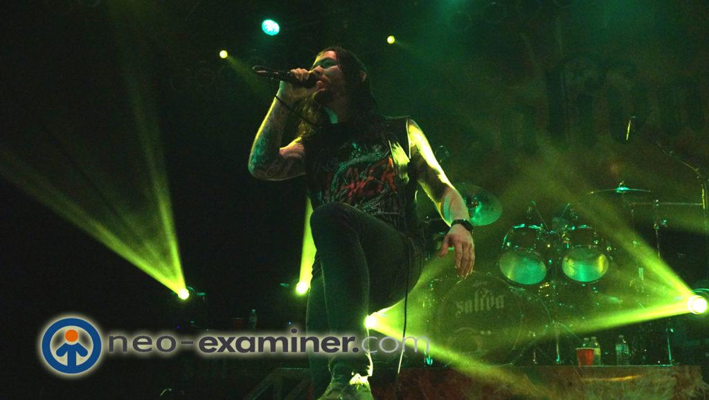 Saliva On stage