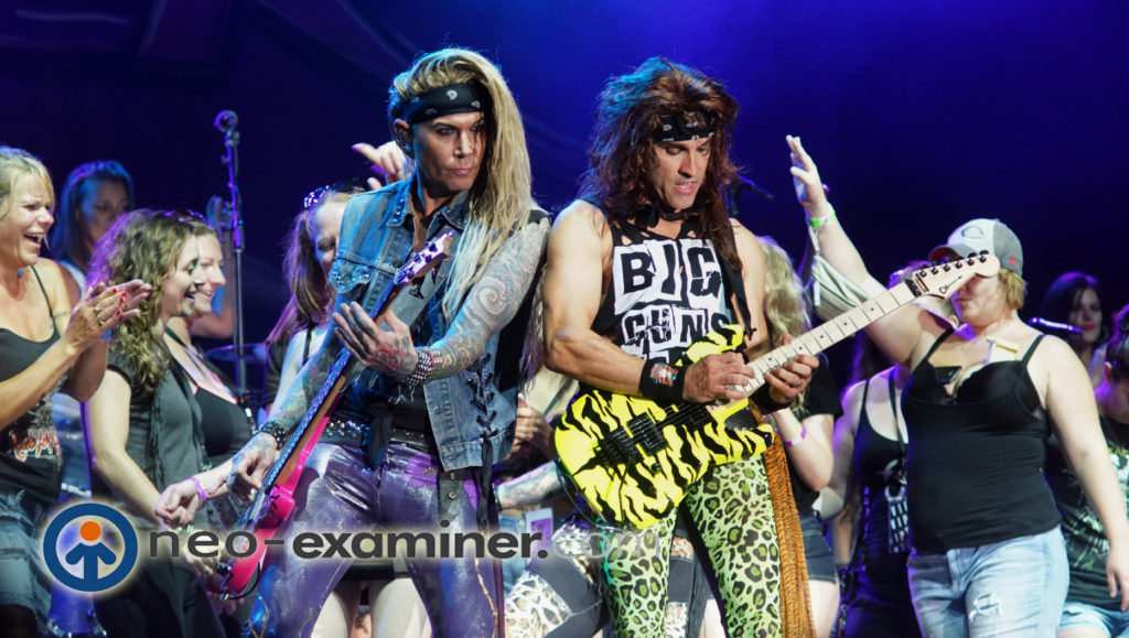 Steel Panther Live On Stage