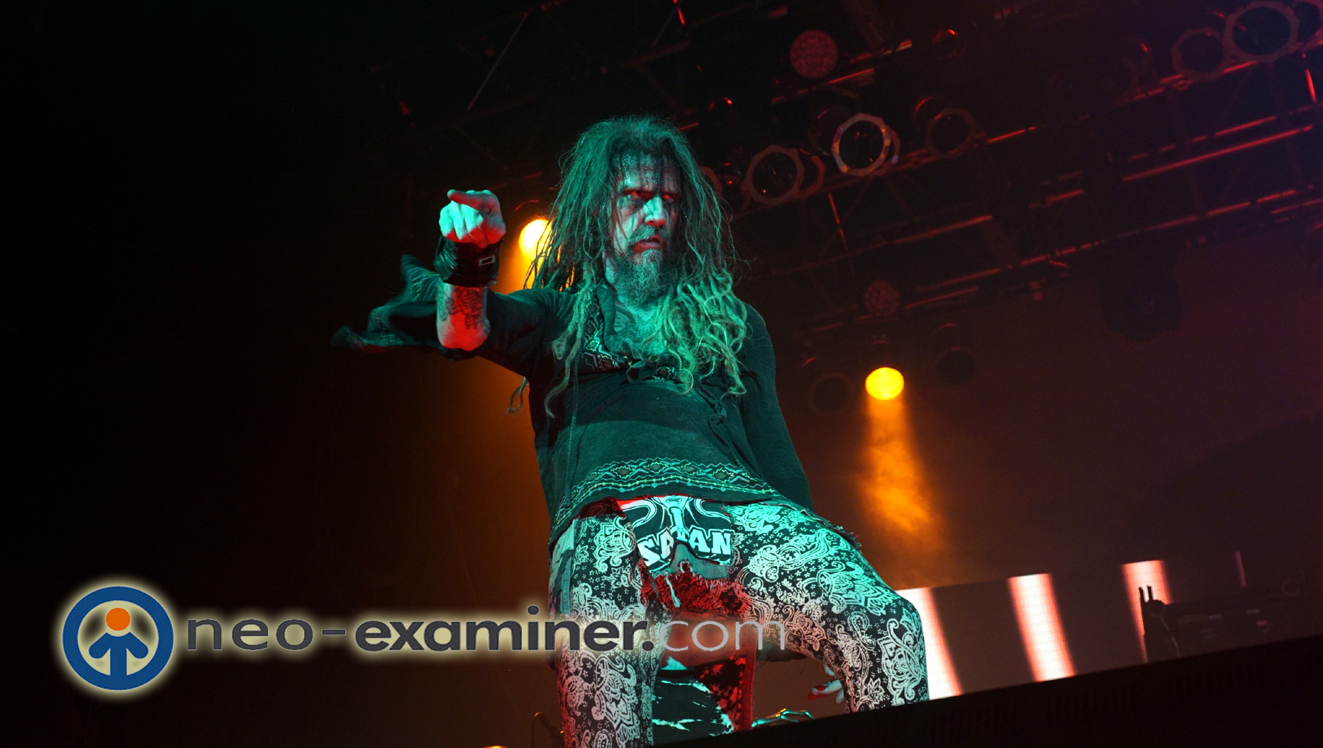Rob Zombie Live on Stage