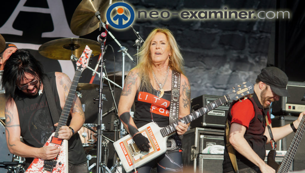 Lita Ford Live On Stage