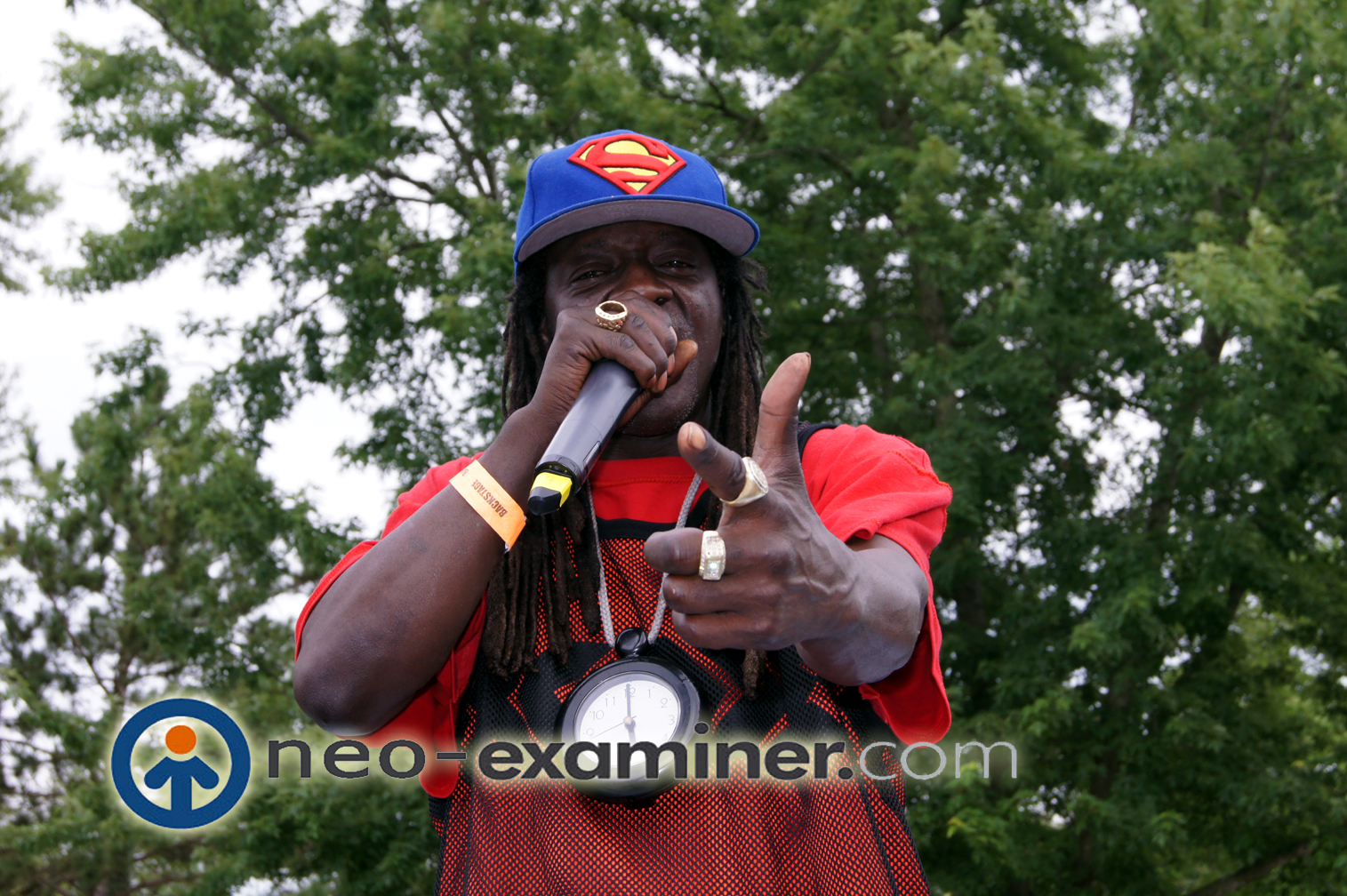 Flavor Flav at NAP in Roselawn Indiana