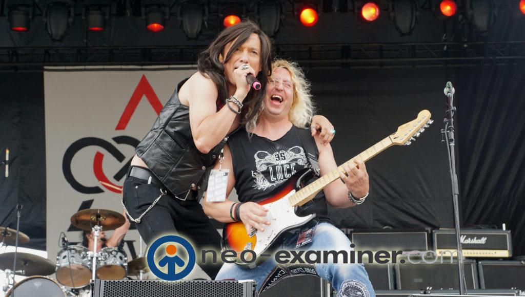 Love N Revenge live on stage