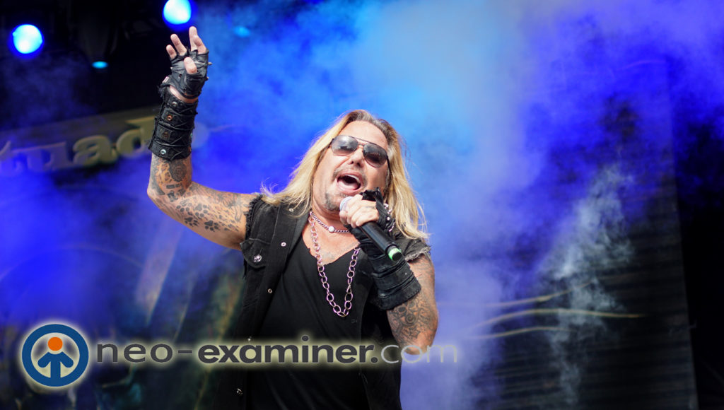 Vince Neil live on stage