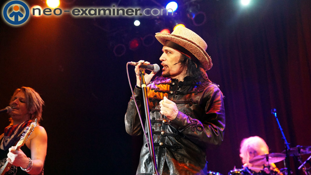 ADAM ANT plays his Friend Of Foe album, live, for the first time in its entirety,on tour now !