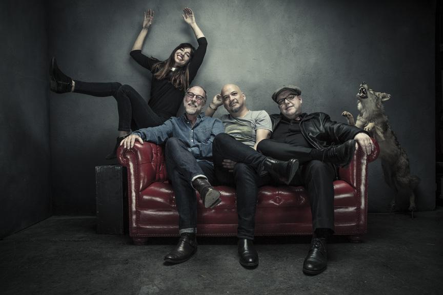 L-R: Paz Lenchantin, David Lovering, Joey Santiago, Black Francis Photo credit: Travis Shinn