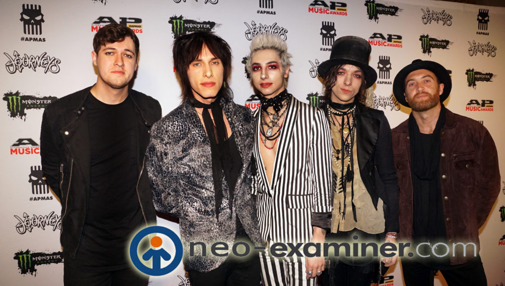 PALAYE ROYALE The Alternative Press Music Awards APMA 2017 Cleveland Ohio