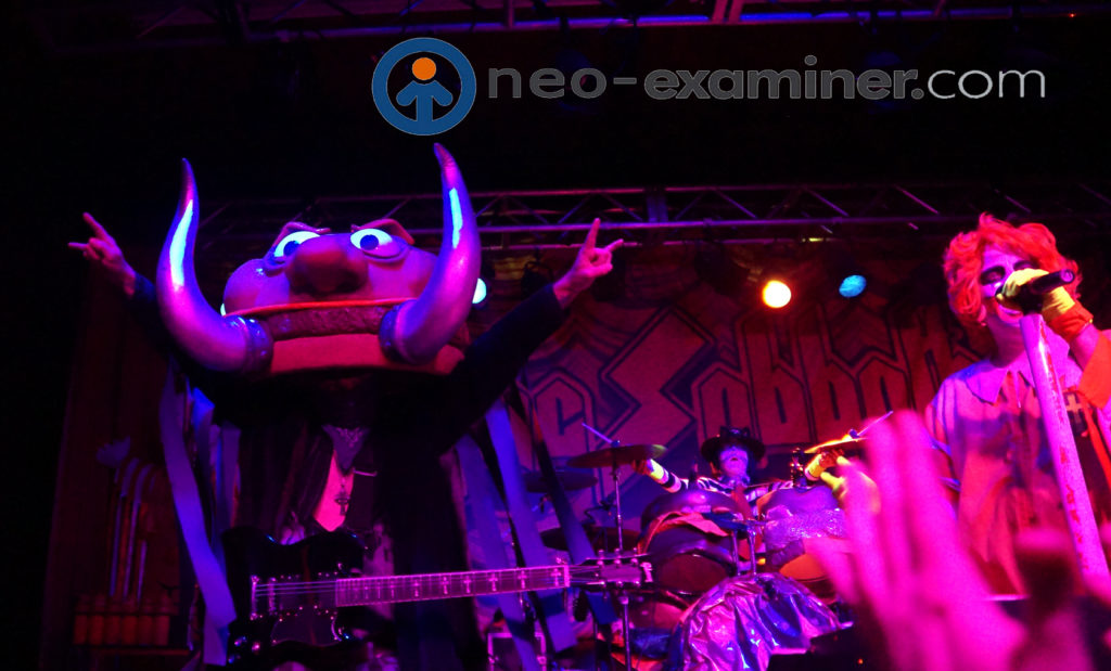 Mac Sabbath live on stage