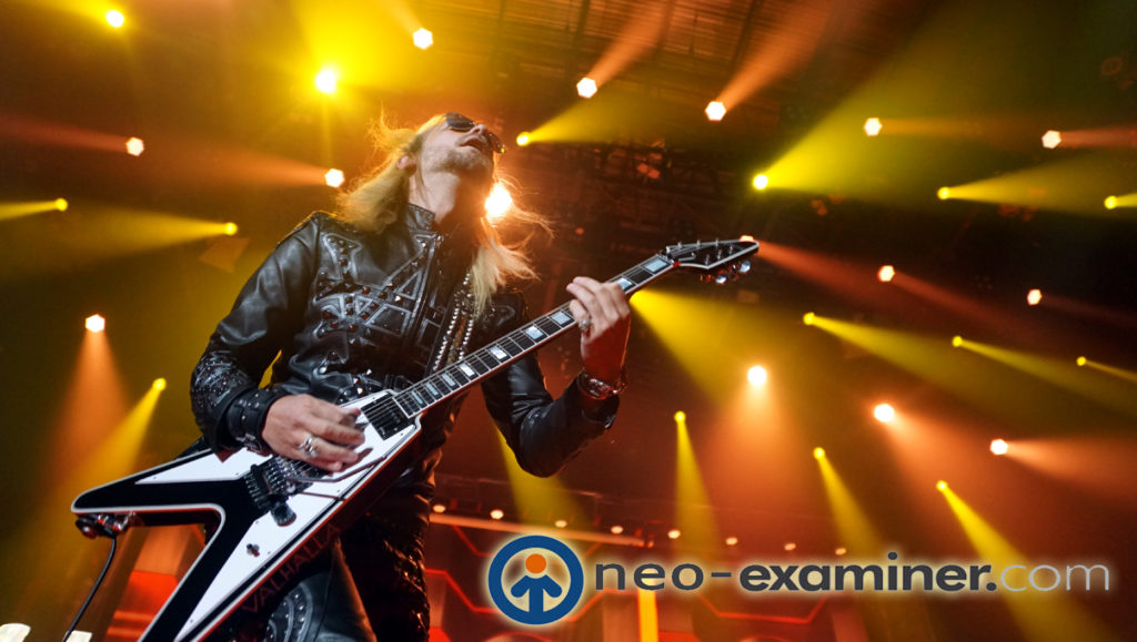 Richie Faulkner on stage