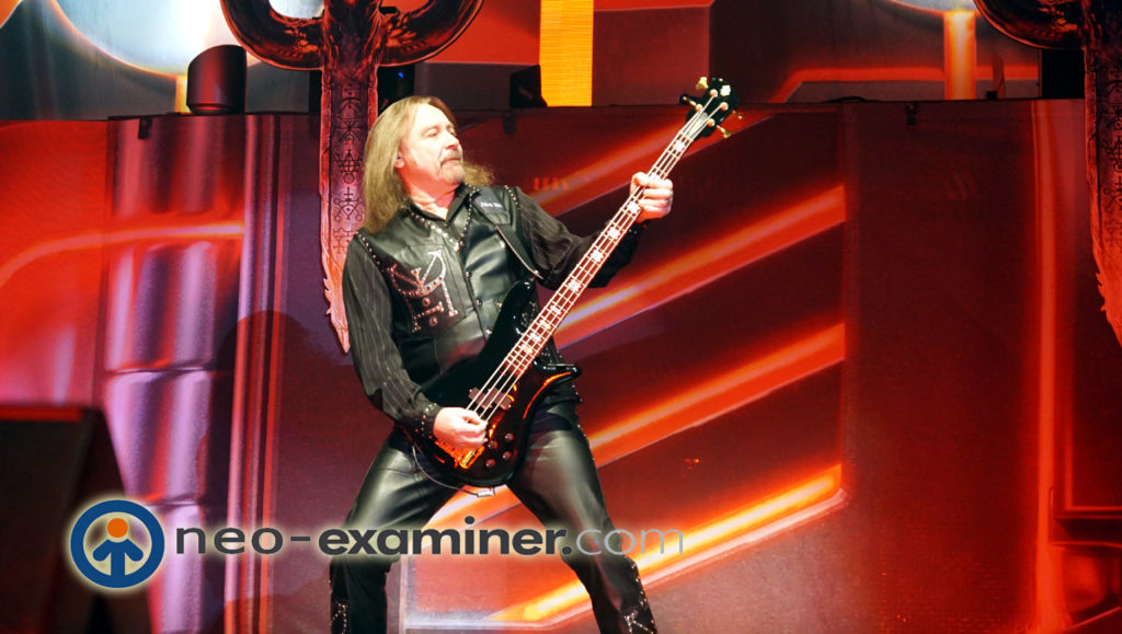 Ian Hill on Stage