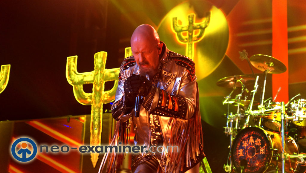 Rob Halford on stage