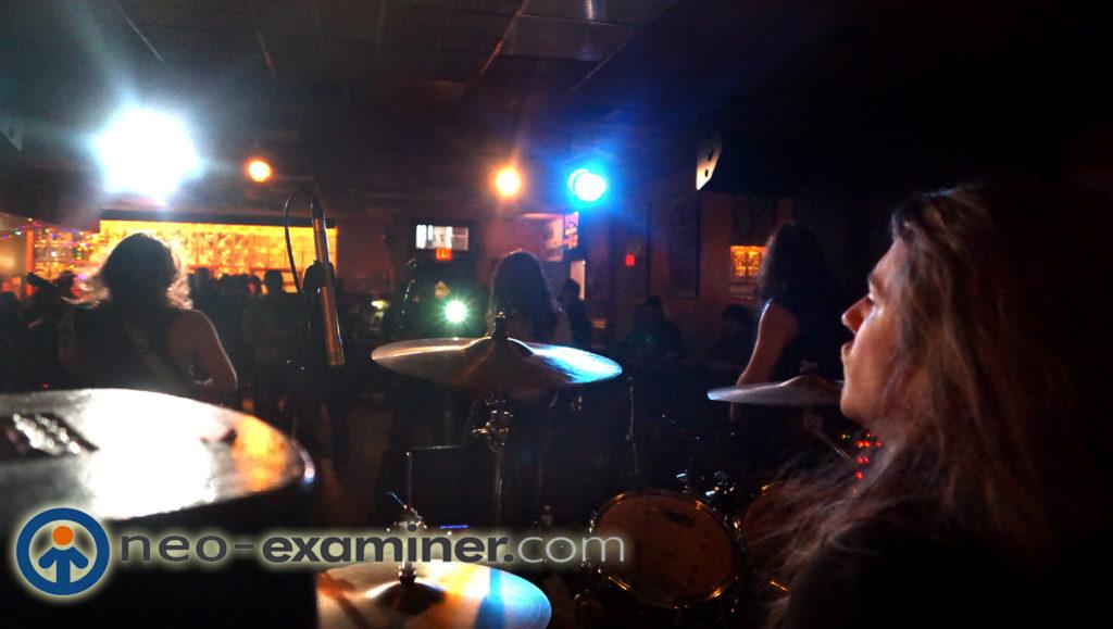 Ethan Brosh Band , the view from Dan Whitelocks drum throne