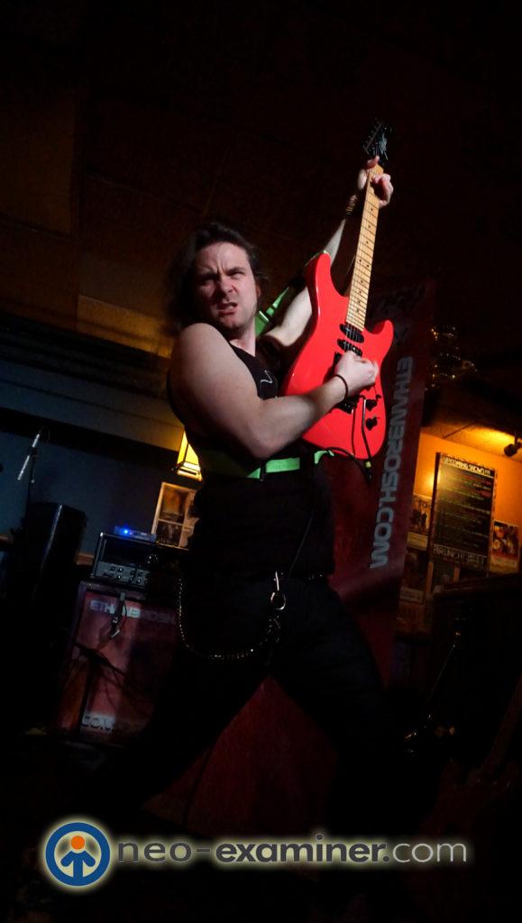 Ethan Brosh Band -Nathan Montalvo on guitar