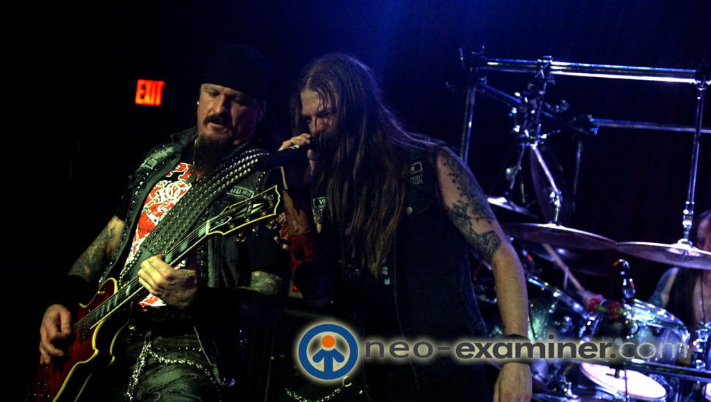 Iced earth on stage
