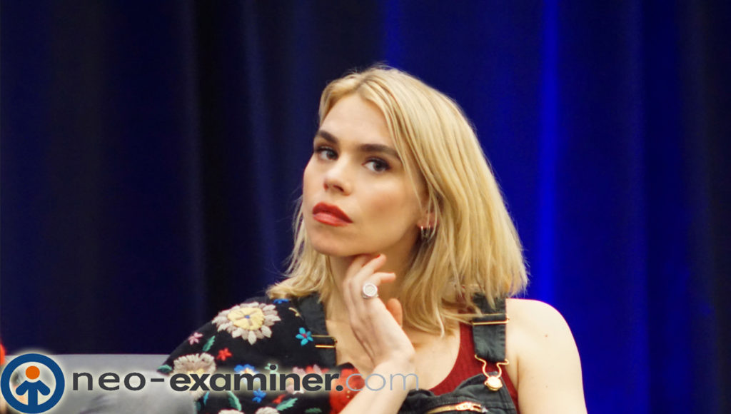 Billie Piper on stage