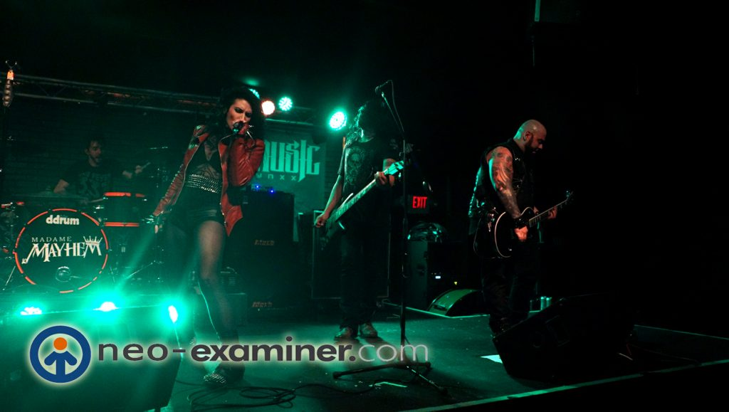 Madame Mayhem Live On Stage