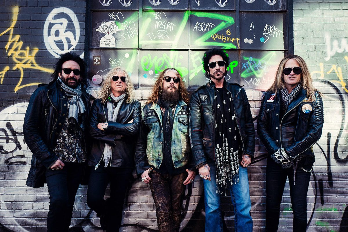 Band members from L-R: Marco Mendoza, David Lowy, John Corabi, Deen Castronovo and Doug Aldrich (PRNewsfoto/The Dead Daisies)