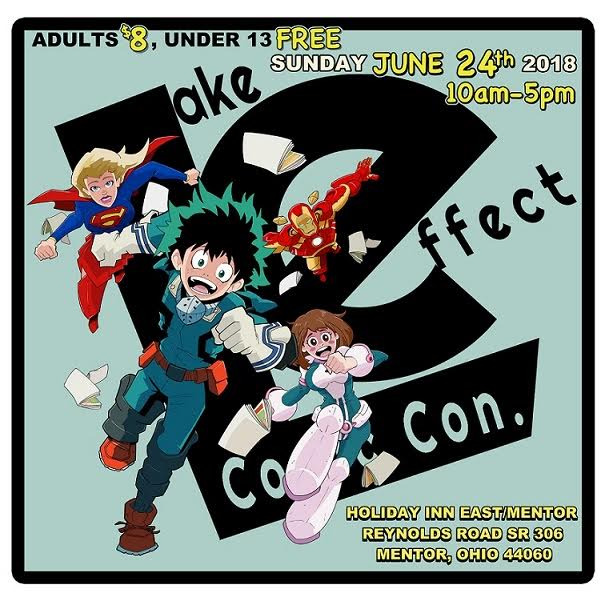 LAKE EFFECT COMIC CON TAKES PLACE JUNE 24!