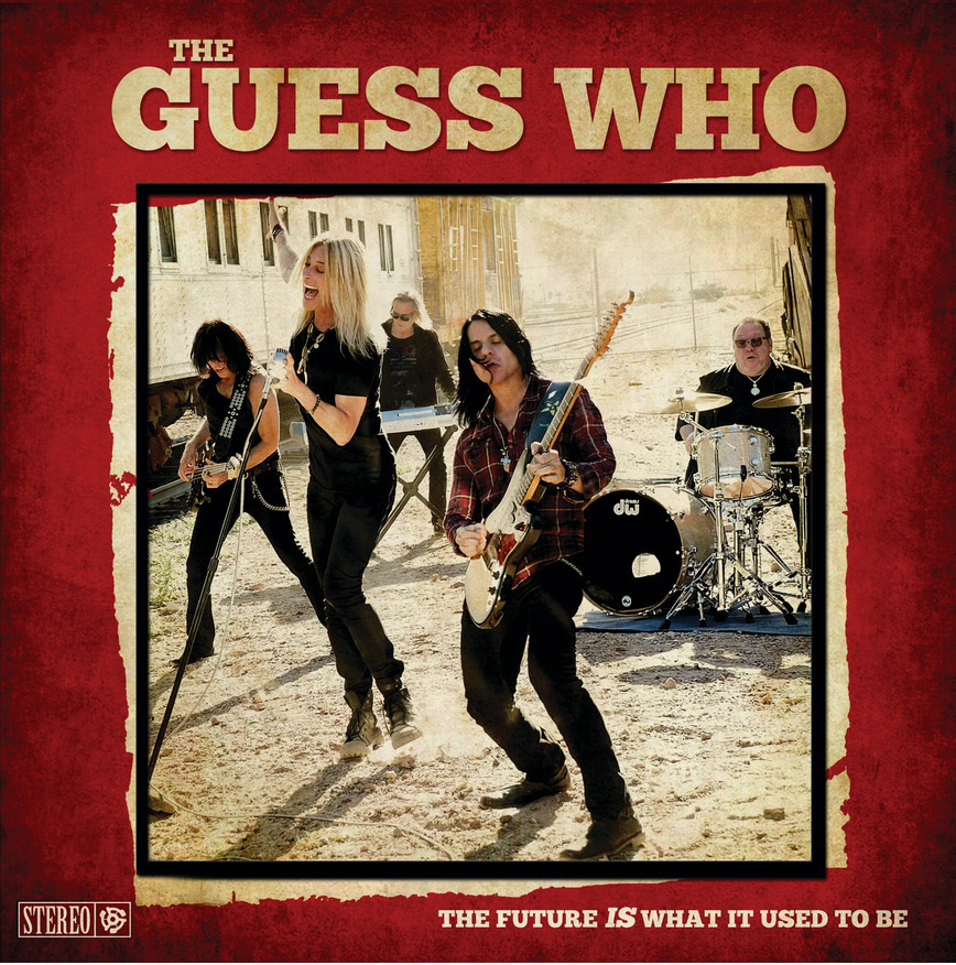 CLASSIC ROCK GREATS THE GUESS WHO RETURN WITH NEW ALBUM