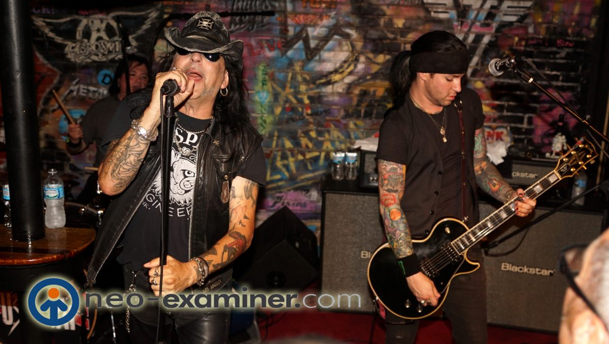 Photo of The Day -Faster Pussycat's Taime Downe and Ace Van Johnson !