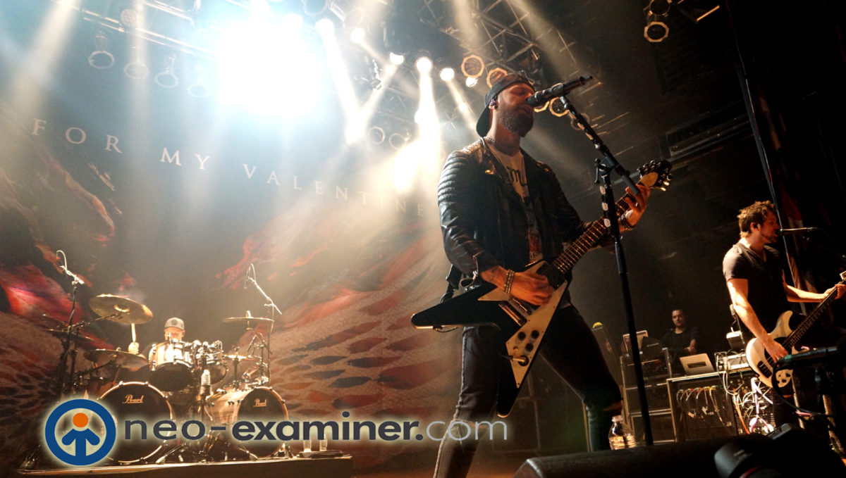 Bullet For Valentine live on stage !