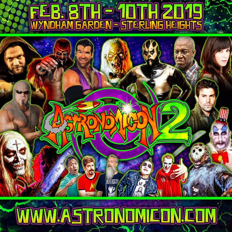 Astronomicon 2 Pop Culture Convention Announces Additional Special Guests and Details