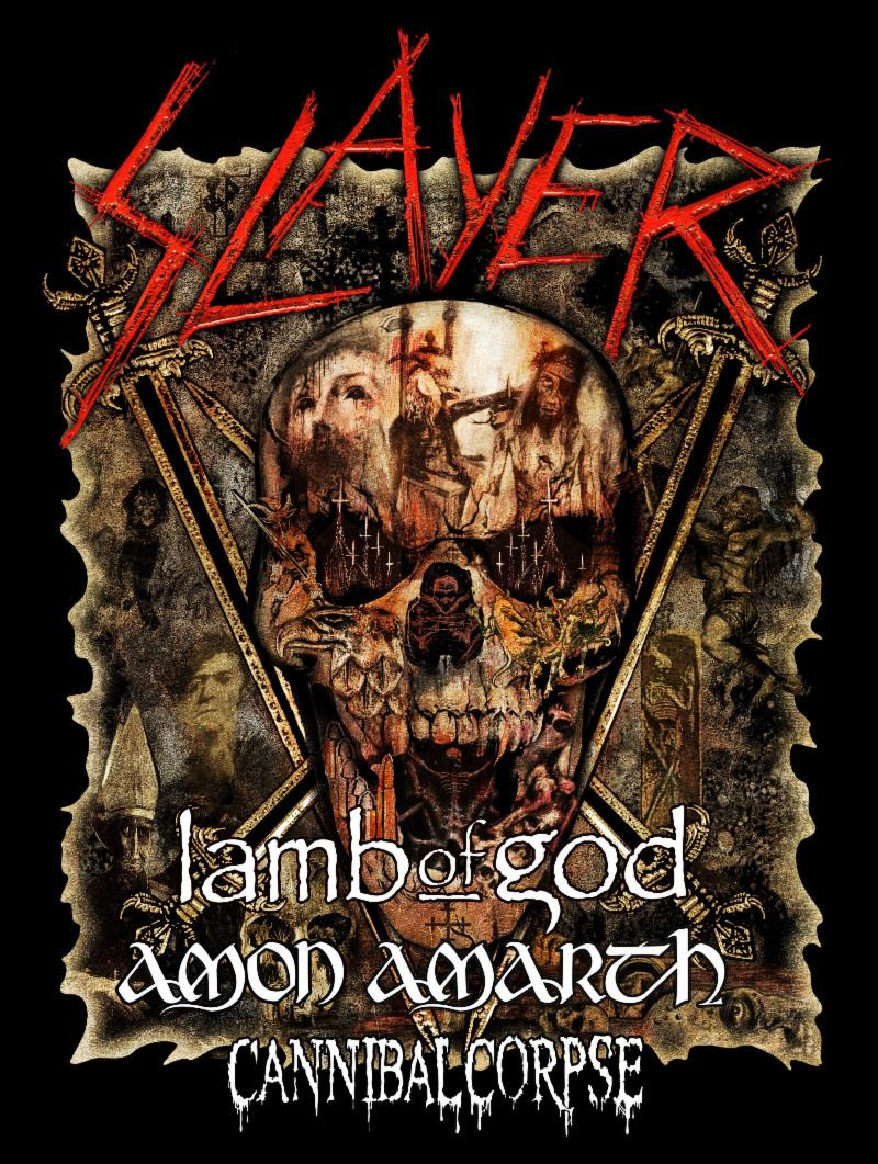 LAMB OF GOD to Perform on Slayer's Final World Tour, Leg 5: North America