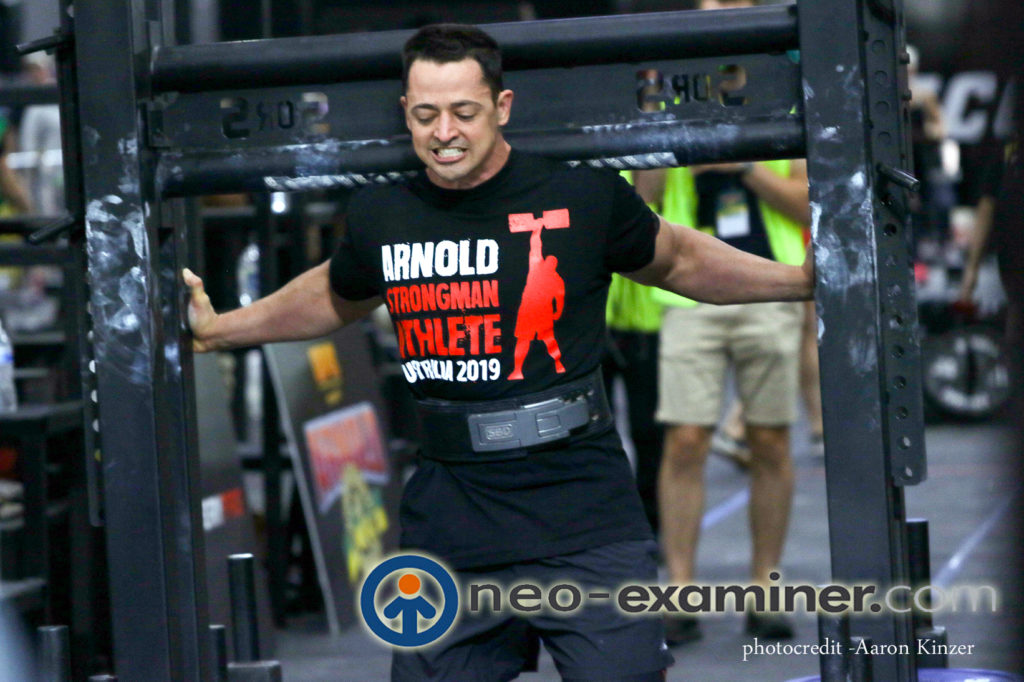 Competitors at Arnold  Sports Festival