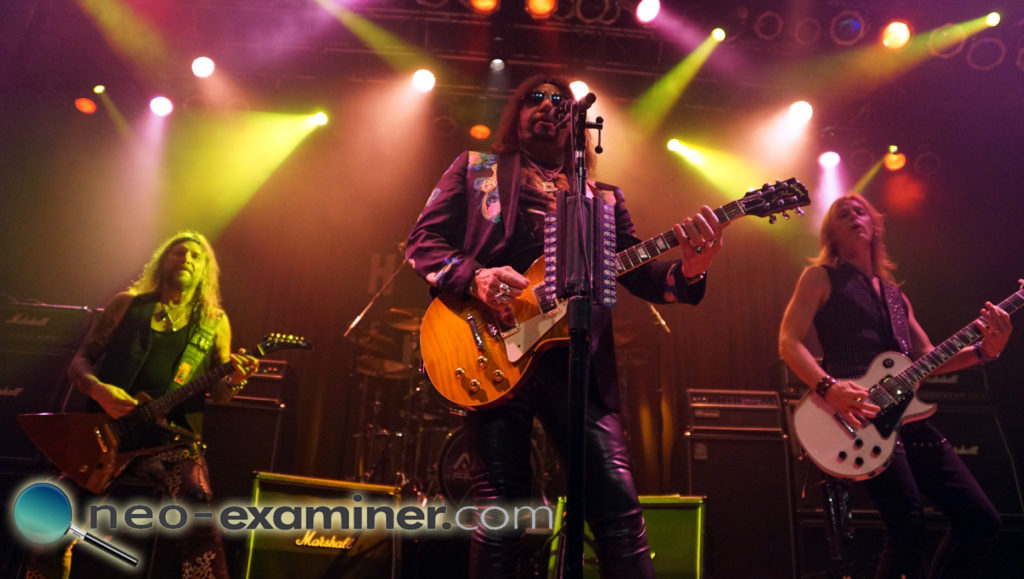 Ace Frehley band live on stage