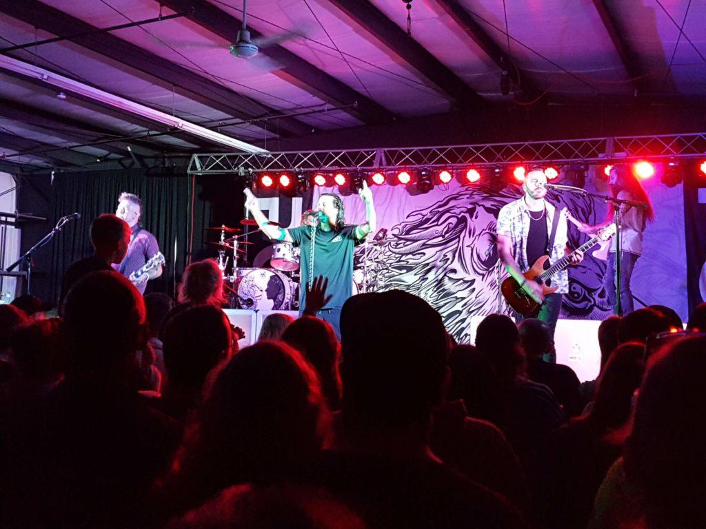 Pop Evil live on stage