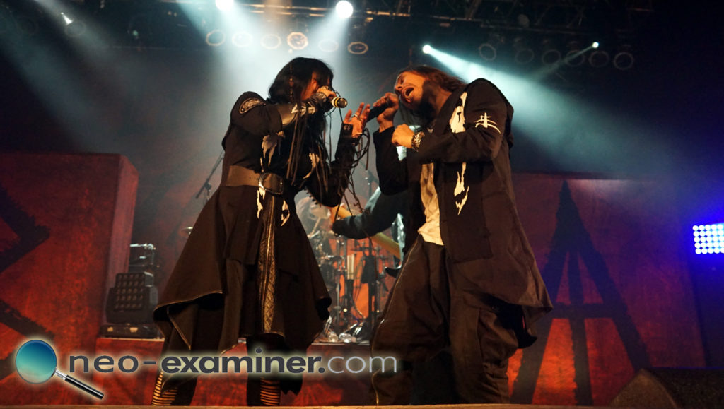 Lacuna Coil live on stage