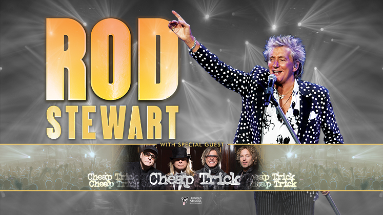 ROD STEWART with special guest CHEAP TRICK Announces Summer Tour