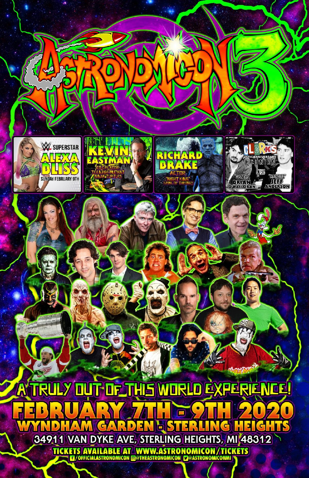"Astronomicon 3 Pop Culture Convention to Feature First Ever ""Clerks"" 25th Anniversary Reunion"