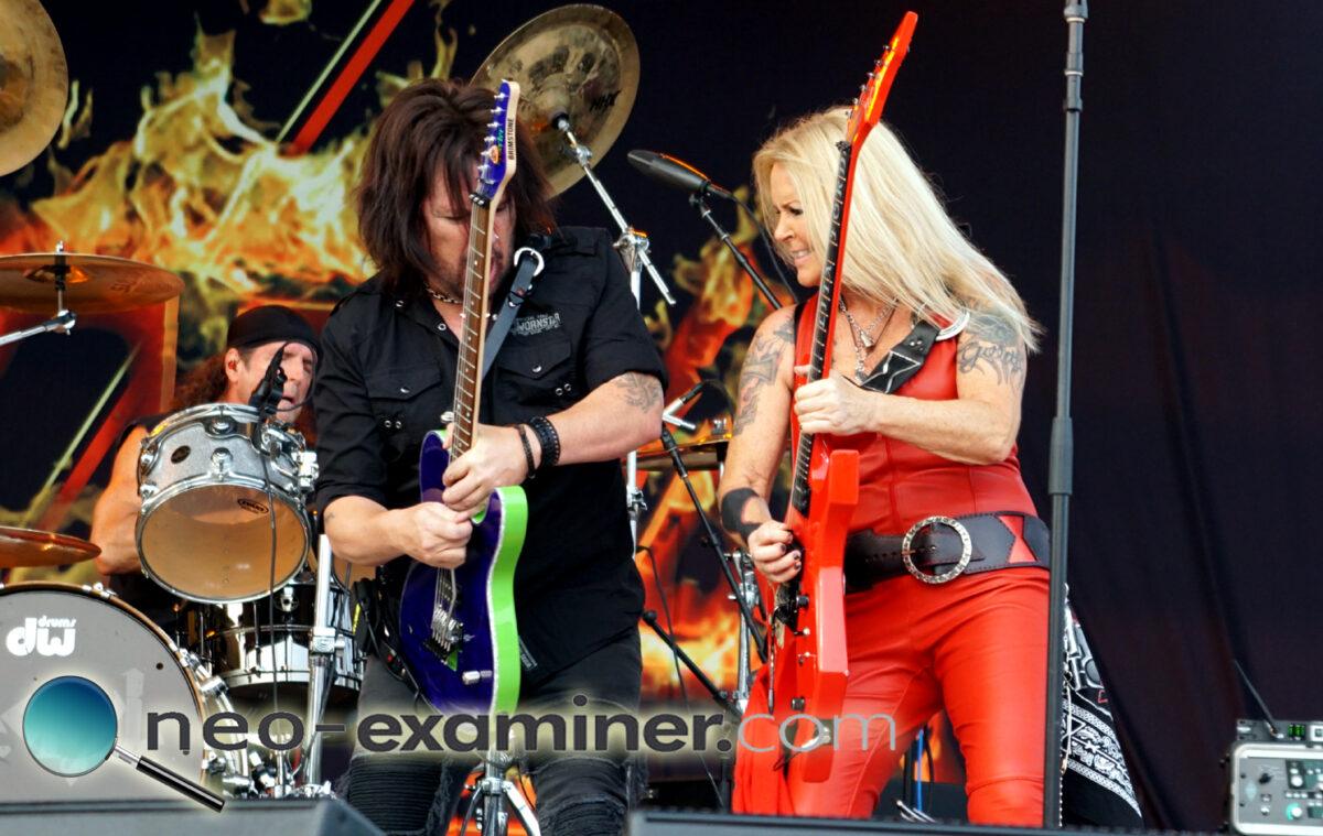 Live Review- Lita Ford at Mentor Rocks