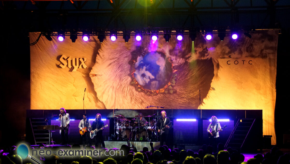 Live Review- Styx at Youngstown Foundation Amphitheater