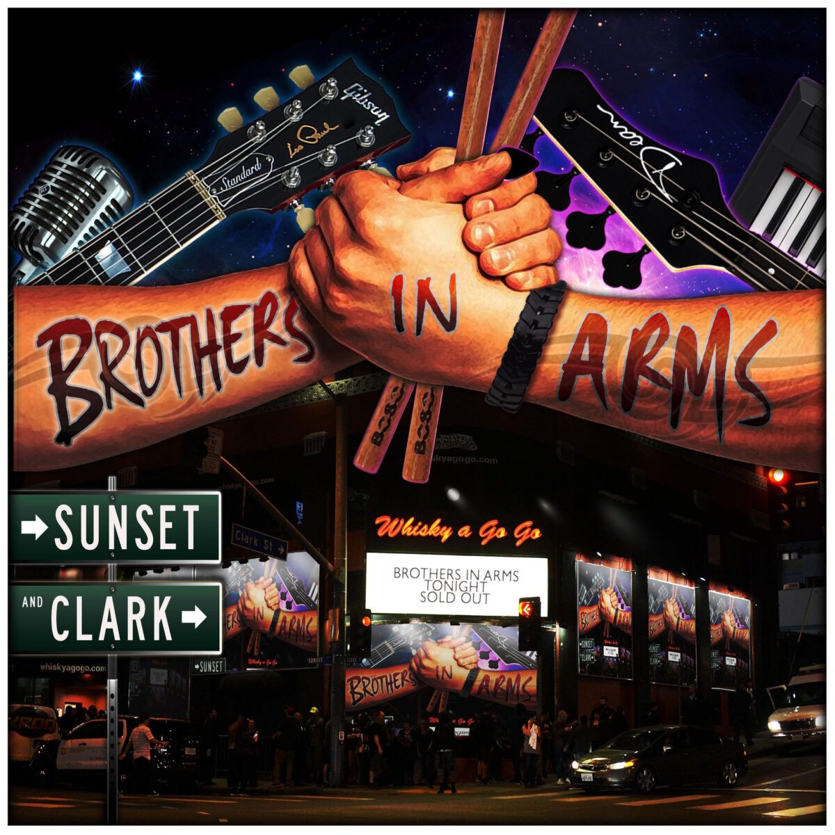 BROTHERS IN ARMS RELEASE THE SECOND SINGLE AND VIDEO FROM THEIR FORTHCOMING DEBUT ALBUM SUNSET AND CLARK Inbox